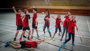 Badminton I Holzsplitter wachsen über sich hinaus