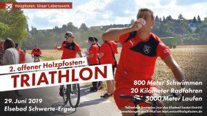 Triathlon I 2. offene Ausgabe am 29. Juni