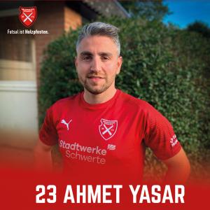 Futsal: Der erste Neuzugang heißt Ahmet Yasar
